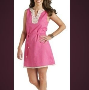 Mud Pie flamingo sleeveless dress